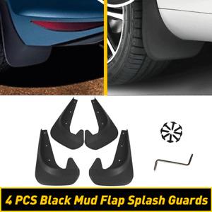 4* Car Mud Flaps Splash Guard EAV Black Car Auto Accessories Protector Tools New