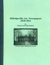 Milledgeville, Ga. Newspapers 1808-1810
