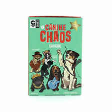 Canine Chaos Card Game Celebrity Edition Ginger Fox Games Ages 8+ New