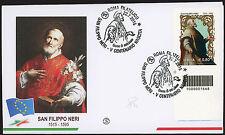 2015 - ITALIA - S. FILIPPO NERI - FDC FILAGRANO CODICE A BARRE 1668