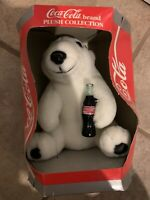 1993 Coca-Cola Polar Bear plush toy in Original box