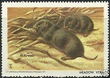 Meadow Vole, National Wildlife Federation Cinderella 1958, Mnh