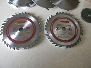 """Oshlun  6"""" 30T stack dado blade w/shim set, Professional grade"""