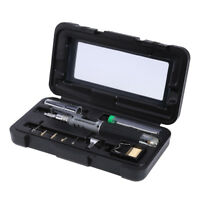 10 in 1 Portable Gas Soldering Iron Cordless Welding Torch Kit Tools HS-1115K