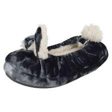 Scarpe Pantofole grigio per bambine dai 2 ai 16 anni