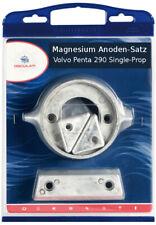 Anoden-Set für Volvo Penta 280-290 Single Prop Z-Antrieb in Magnesium