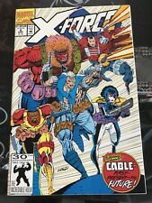 X-Force #8 First Domino In Flashback; Cable Origin; Mike Mignola Art; Nice Copy