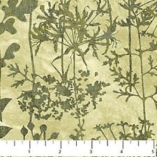 "1 Yard of  ""Stonehenge Meadow-Spring"" by Northcott Fabrics"