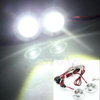DC 12V 5W Car 2 LED Strobe Bulb Light Emergency Warning Flash With Controller