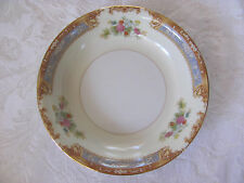 "Noritake ""M"" N115 Blue Bands w/ Flowers - Fruit/Dessert/Sauce Bowl(s)-12 Avail"