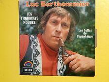 LUC BERTHOMMIER Les tramways rouges 83001