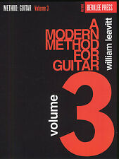 A Modern Method For Guitar Volume 3 Learn to Play Lesson Chord Music Book