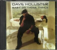Blackstreet DAVE HOLLISTER Baby do those EDIT & INSTRUMENTAL PROMO DJ CD Single