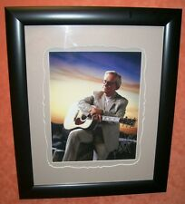 GEORGE JONES Signed Autograph Photo FRAMED Custom COA LOA 11x14