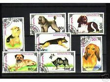 0926++MONGOLIE   SERIE TIMBRES CHIENS