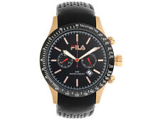 Fila Gents Discoverer Chronograph Watch FA 0887-91 Gold Black New