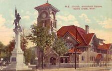 METHODIST EPISCOPAL CHURCH SQUARE BATTLE CREEK, MI 1917