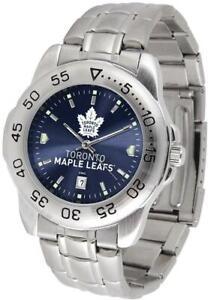 Gametime Toronto Maple Leafs Sport Steel Watch