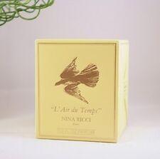 SEALED Vintage NINA RICCI**L'AIR DU TEMPS Lalique PURE PARFUM 15 ml~1/2 oz MISB