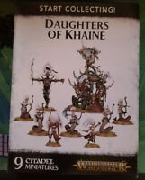 Age Of Sigmar Daughters of Khaine  Army, start collecting, Shadows and pain,