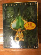 The Wizard of Oz (VHS, 1999, Collectible Gift Set); New In Box!