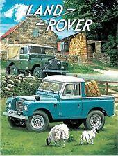 43 Land Rover Sales Grande Garaje Vintage Servicio Antigua Publicidad