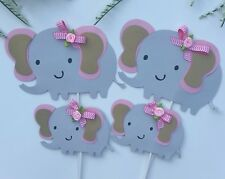 Elephant baby shower/ elephant centerpieces stick/ baby shower decoration