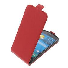 Custodia per Acer Liquid Jade S/Jade Z Flipstyle Guscio Protettivo Flip Case Rosso