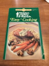 Hidden Valley Ranch Easy Cooking Favorite Recipes, WPS 37501 Sp.Ed.(Aug.92)-GUC