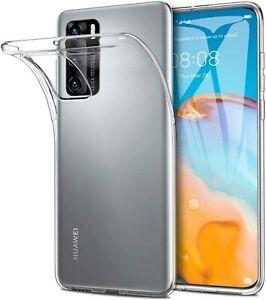 Huawei P40 - Coque Gel TPU transparente souple anti choc (Transparent)