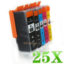 25 Ink Cartridge PGI650 CLI651 for Canon PIXMA MG5460 MG6460 MG7160 IP7260 MX726