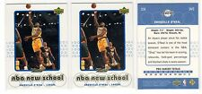 1X SHAQUILLE O'NEAL 1999 00 Upper Deck Retro #S19 NEW SCHOOL INSERT Lots Availab