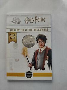 Pièce 10€ argent Harry Potter à l'école des sorciers Monnaie de Paris 2021