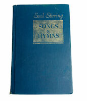 Soul Stirring Songs And Hymns Hymnal Hardcover Christian Music Personal Notes