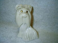 Vintage Princess of Yorkshire Avon Sweet Honesty Cologne Yorkie Dog Bottle