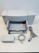 HP DeskJet 840c Parallel/USB 600dpi Inkjet Printer C6414A TESTED