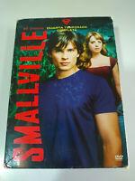 Smallville Quarta Stagione 4 Completa - 6 X DVD Spagnolo Inglese - 3T