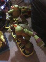 teenage mutant ninja turtle Remote Control Skateboard Pre-owned. Great Fun.