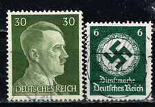 Germany WW2 Third Reich Symbols Hitler Swastika stamps 1942 olive