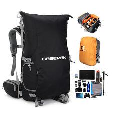 Caseman Great AOB4 Camera Bag Case Waterproof Hiking DSLR Backpack black