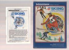 SKIING (Mattel Electronics - Intellivision - Video Game)