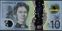 Australia CFU Last Prefix $10 EA17 2695073 Lowe Fraser Polymer +RBA Pamphlet
