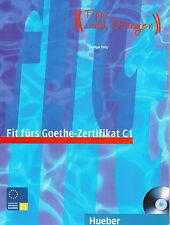 HUEBER Fit PELLICCE Goethe-Zertifikat C1 prufungstraining mit CD/Evelyn Frey @NEW