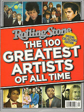 Rolling Stone The 100 GREATEST ARTISTS of All Time 2011 Special Collector's Ed.