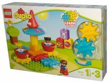 LEGO Duplo Mein erstes Karussell, Spielzeug mit Lerncharakter, große Bausteine
