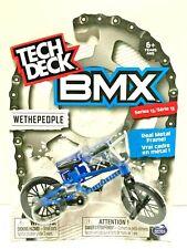 New Tech Deck BMX Finger Bikes Series 13 WETHEPEOPLE Blue Metal Frame