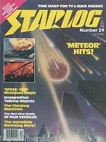 Starlog Magazine Meteor Space 1999 Mork And Mindy Buck Rogers Les Bowie 1979
