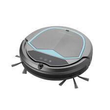 MIRAVAC Swerve Robot Vacuum Cleaner Blue 1800Pa Turbo Suction Object Avoidance