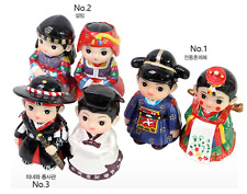 Korea-Culture-Folk dolls Korea (small) Tranditional souvenir Gift