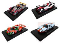 Lot de 4 Voitures des 24H du Mans - 1/43 Spark Miniature Diecast LM37